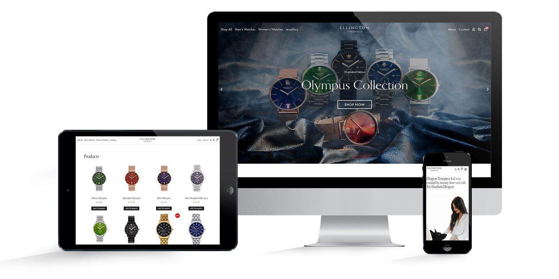 Ellington Timepiece Website